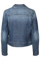 Veste en jeans avec strass, Denim