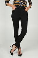 Jeans slim push up, Black Denim