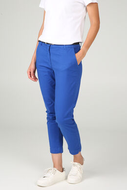 Pantalon coton, Bleu royal