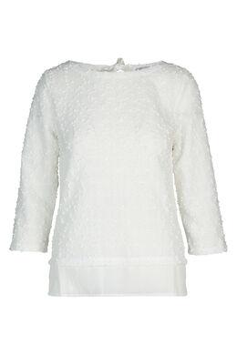 Sweater in bouclétricot, Ecru