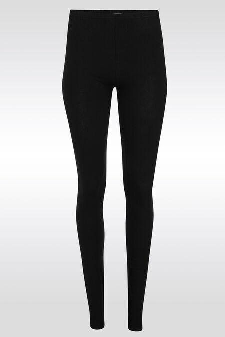 Long legging basique - Noir
