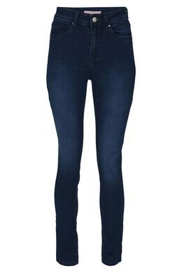 Jeans taille haute, Denim