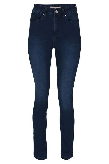 Jeans met hoge taille - Denim
