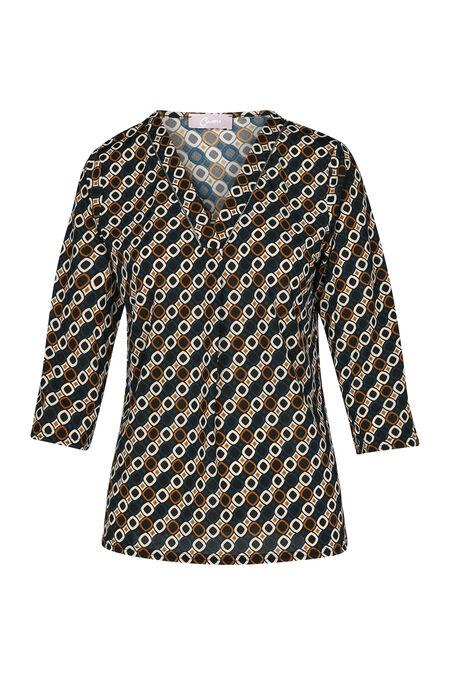 T-shirt maille froide imprimé géométrique - Canard