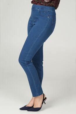 Jegging in jeans, Denim