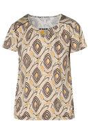 T-shirt imprimé ethnique, Anis