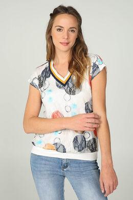 60097a3ca3e T-shirt, polo, basic katoen en tricot - vrouwenmode - cassis