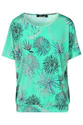 T-shirt maille froide imprimé fleurs