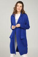 Cardigan veste, Bleu Bic