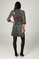 Robe imprimé ethnique, multicolor