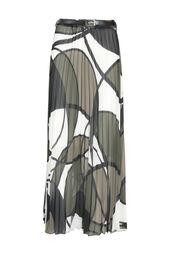 Cassis-Jupe longue plissée