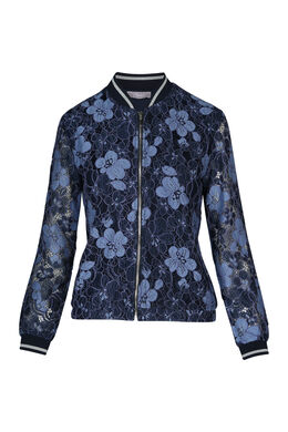 Bomber in kant, Marineblauw