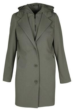 Manteau à capuche, Kaki