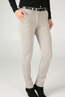 Pantalon en maille épaisse, Beige