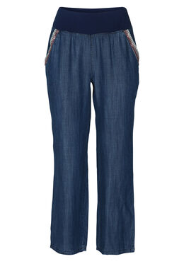 Pantalon fluide inspiration jeans, Denim