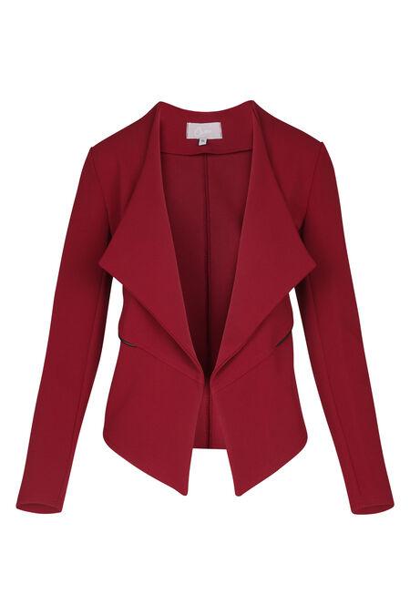 Ongevoerd jasje - Rood
