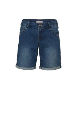 Short en jeans, Denim