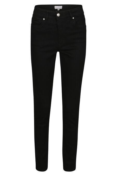 Jeans slim push up - Black Denim