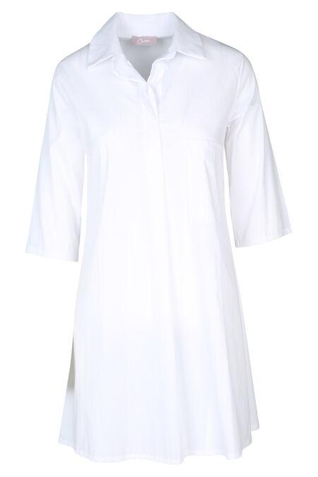 Robe chemisier - Blanc