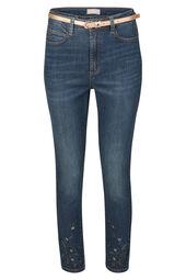 Jeans détails broderies