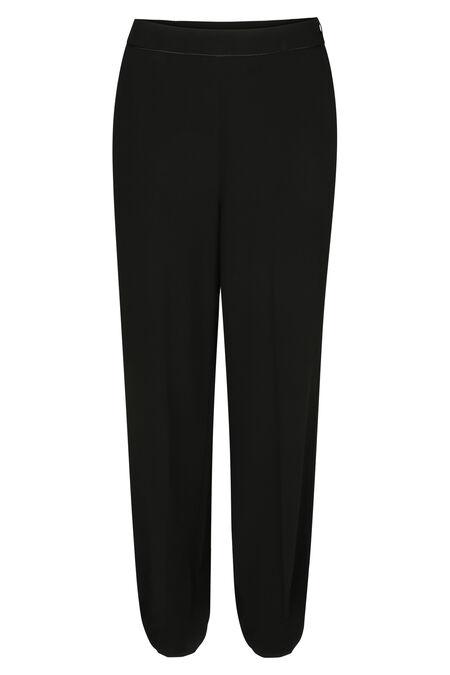 Pantalon de ville uni - Noir