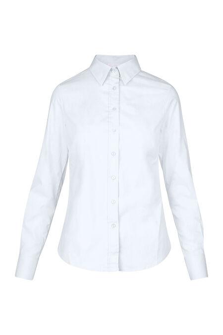 Klassieke blouse in katoen - Wit
