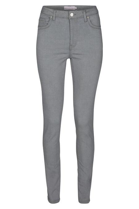 Pantalon en jeans - Gris