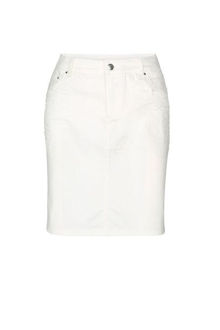 Jupe coton - Blanc