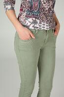 Pantalon slim avec strass, Kaki