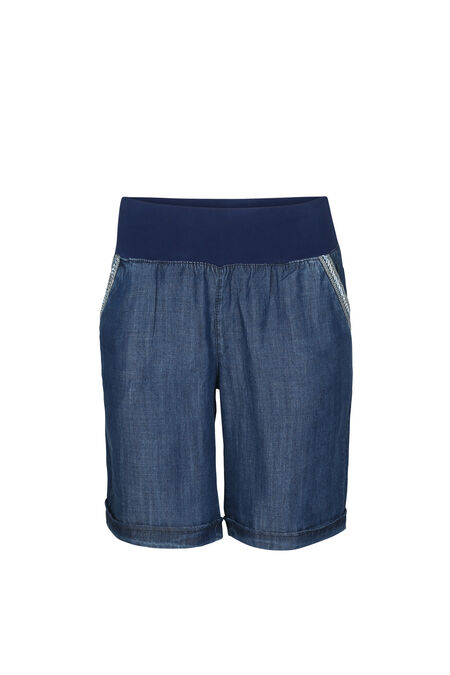Short en lyocel - Denim