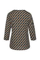 T-shirt maille froide imprimé géométrique, Canard