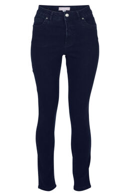 Jeans push up taille haute, Dark denim