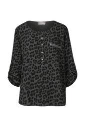 Tuniek met luipaardprint