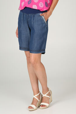 Short en lyocel, Denim