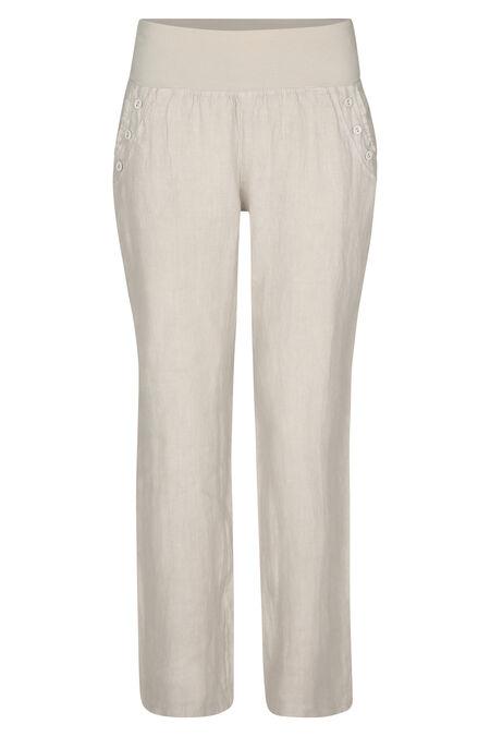 Pantalon en lin - Sable
