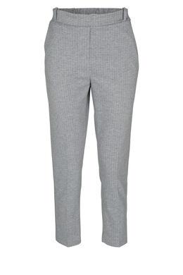 Pantalon de ville rayé, Gris-clair