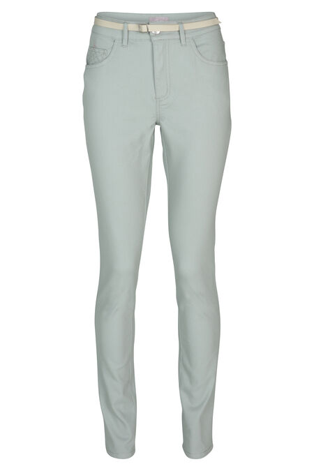 Pantalon 5 poches stretch - aqua
