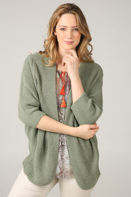 f2057a6f2a91 Cardigan loose en maille