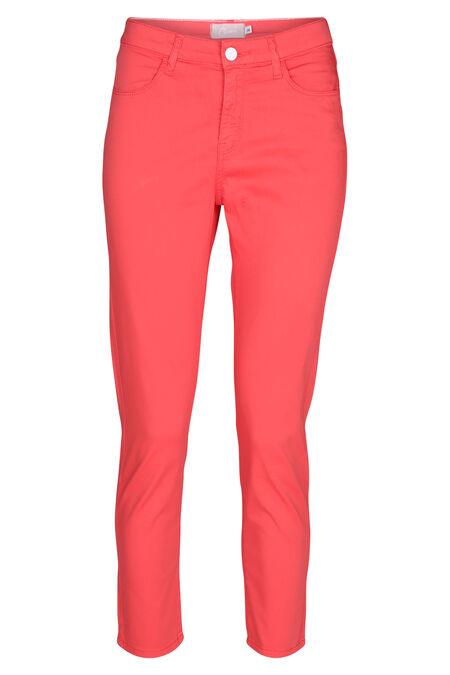 Pantalon 7/8 en coton - Corail