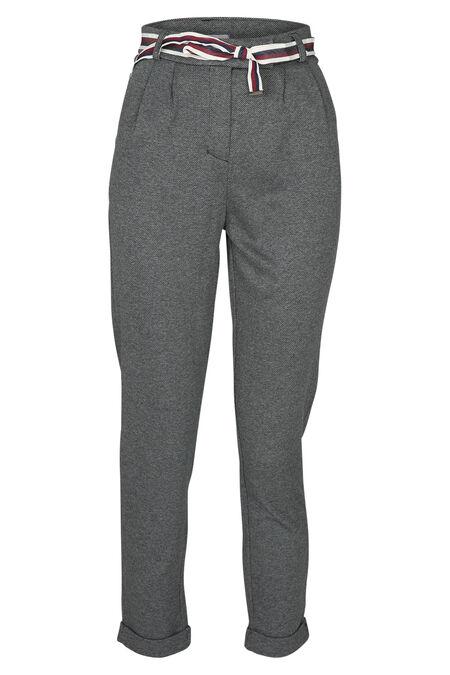 Pantalon chino - Gris-moyen
