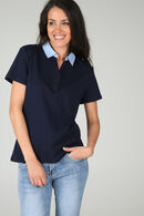 T-shirt polo, Marine