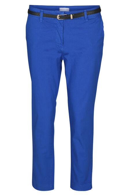 Pantalon coton - Bleu royal