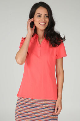 T-shirt polo, Corail