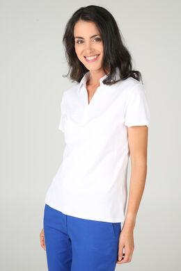 Poloshirt, Wit