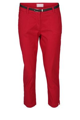 Pantalon coton, Rouge