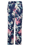 Pantalon large, Rose